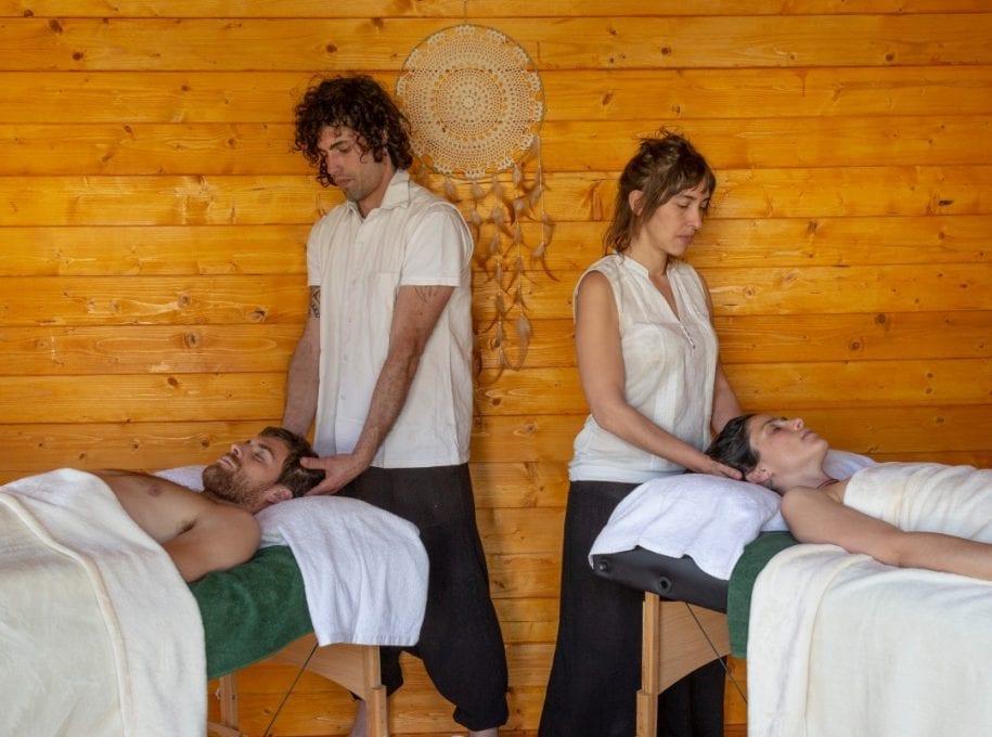 masajes a dos